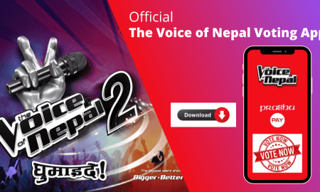 the voice of Nepal Online Voting Apps