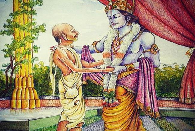 Krishna and Sudhama