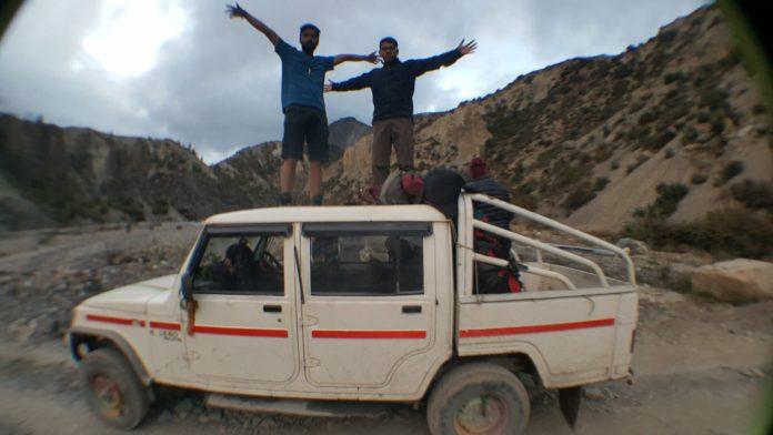 Orijesh In Jeep