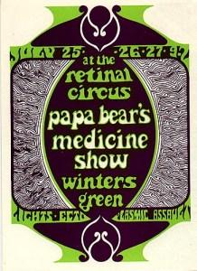 PAPA BEAR'S MEDICINE SHOW