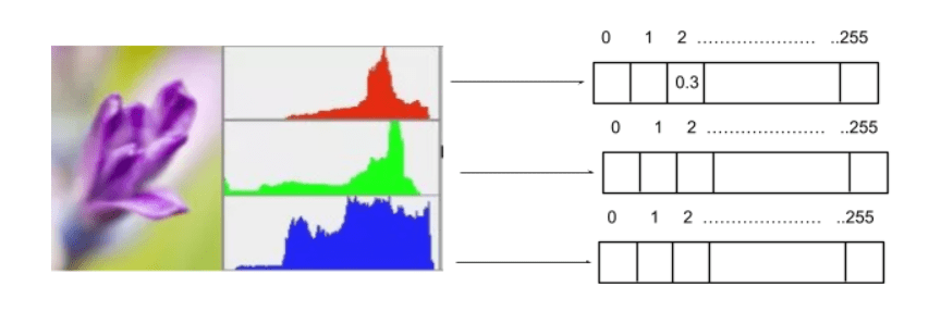 Feature engineering - histograms