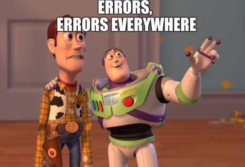 Kaggle error analysis