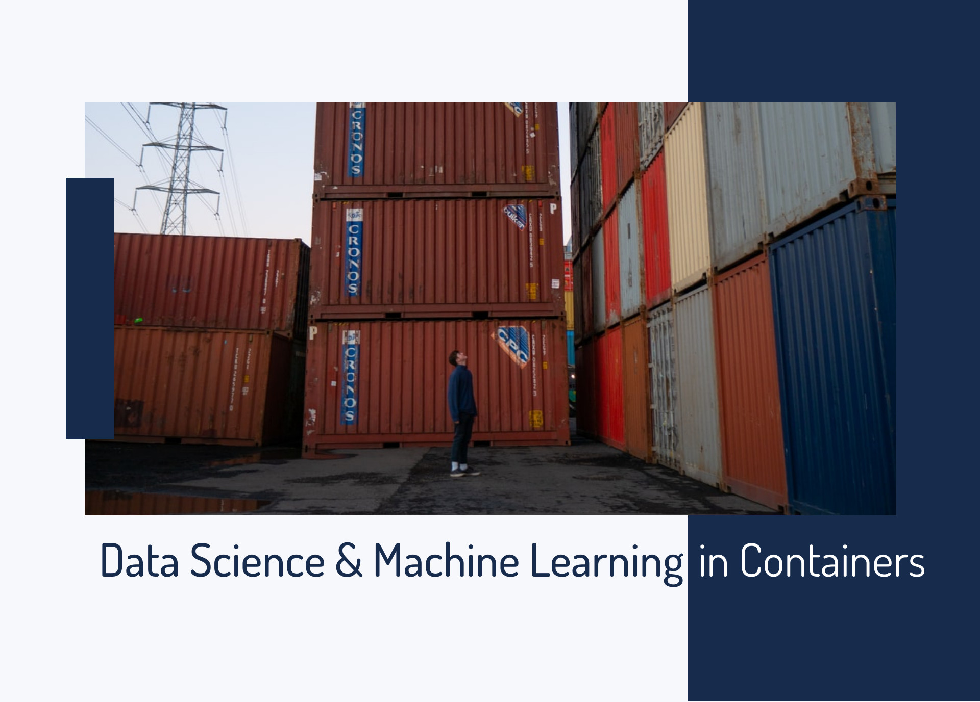 ML in containers