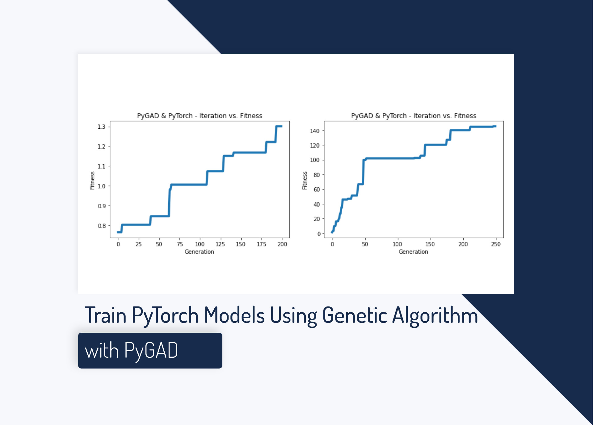 Train PyTorch Models Using Genetic Algorithm with PyGAD