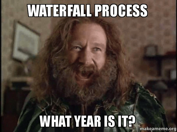 Waterfall process