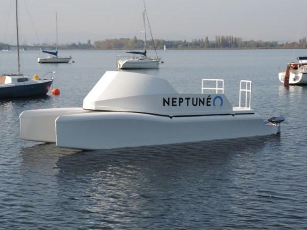 Photo bateau électrique