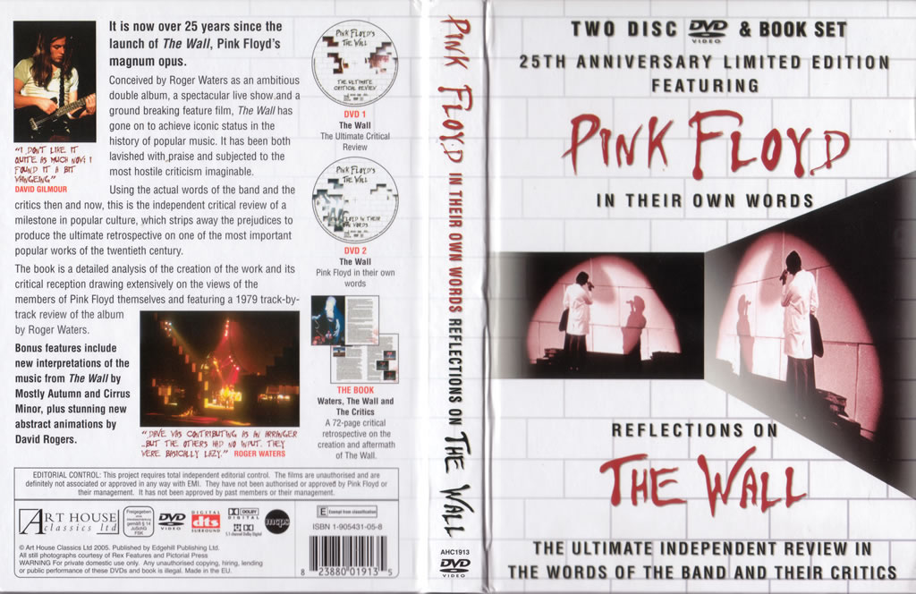 Critical Review  The Wall (dvd)  Neptune Pink Floyd