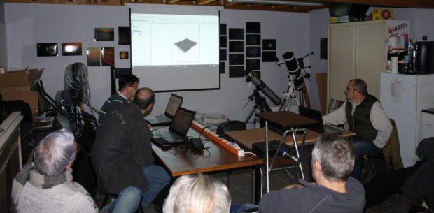 Atelier de création de vues 3D de la Lune