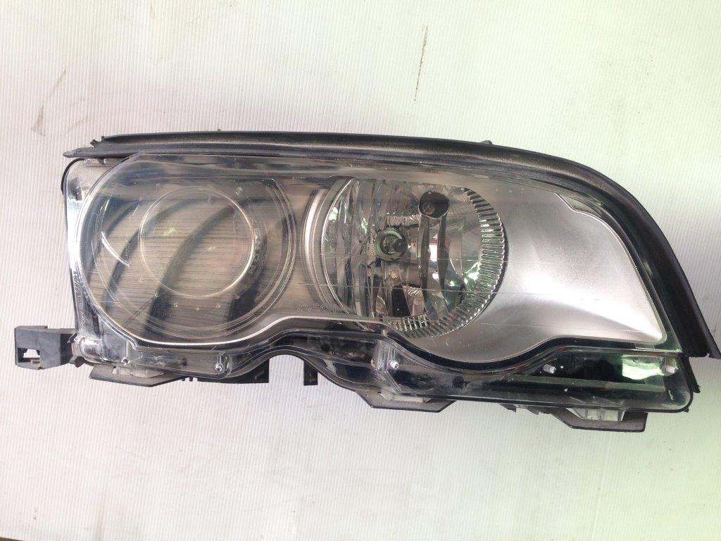 hight resolution of bmw e46 left hand headlight xenon