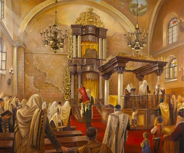 Beit Kneset Hurva Alex Levin - Ner Art