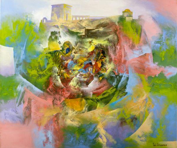 Jewish Painting Ner Art