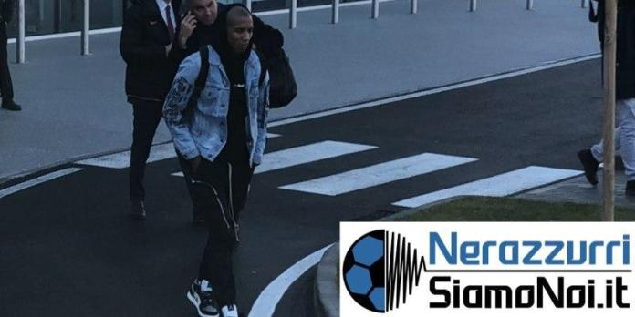 Ashley Young atterrato a Malpensa