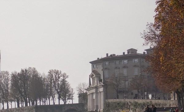 Bergamo im Herbst