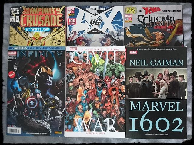 Universum der Comics - Marvel