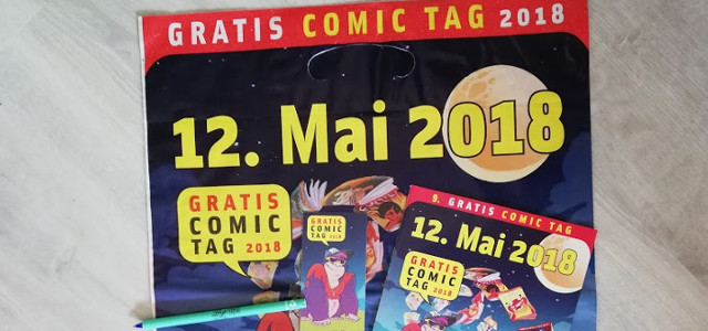 Gratis Comic Tag 2018