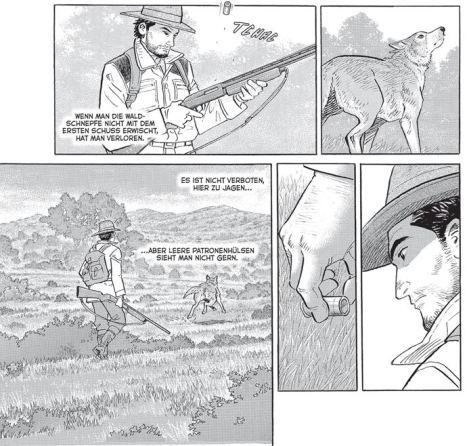 Jäger 1, Schreiber & Leser, Ausschnitt Leseprobe