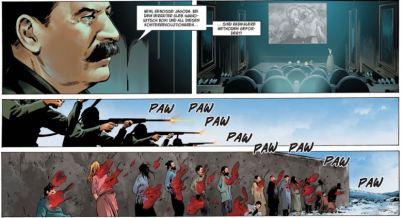 Olympus Mons 2, Splitter Verlag, Ausschnitt Seite 6