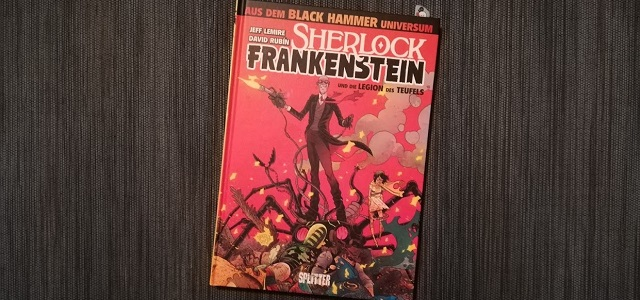 Sherlock Frankenstein +Rezension+