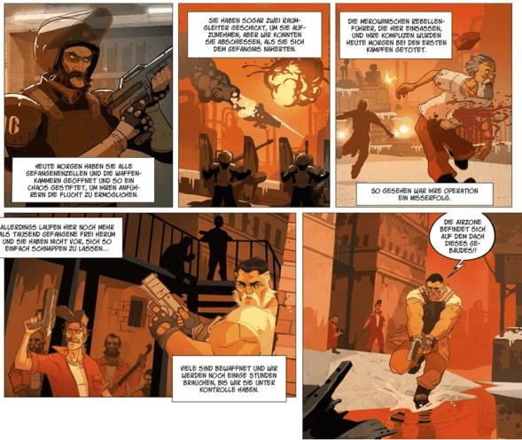 Warship Jolly Roger, Auschnitt Seite 4, Splitter Verlag