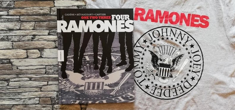 One, Two, Three, Four, Ramones +Rezension+