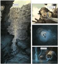 Die lebende Tote, Ausschnitt Seite 7, Splitter Verlag