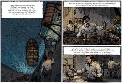 Fulgur 3, Ausschnitt Seite 9, Splitter Verlag