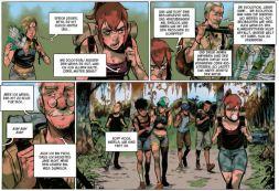 Green Class 1, Ausschnitt Seite 3, Splitter Verlag