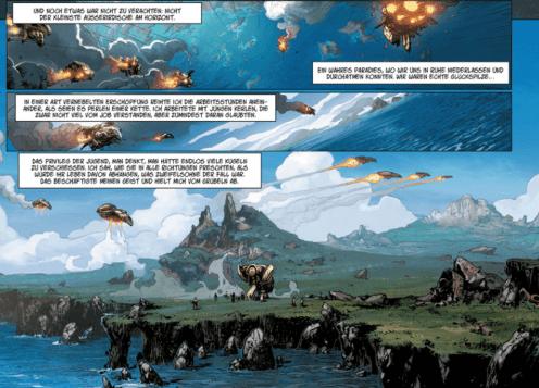 Conquest - Deluvenn, Ausschnitt Seite 8, Splitter Verlag