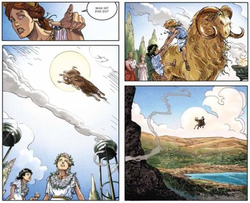 Jason und das goldene Vlies, Splitter Verlag, Ausschnitt Seite 11