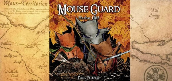 Mouse Guard 1 – Herbst 1152 +Rezension+