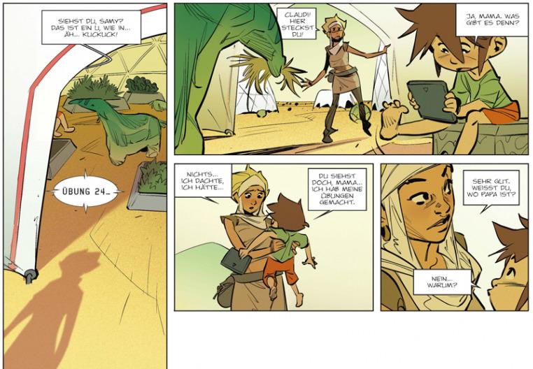 Die Waise von Perdida, Splitter Verlag, Ausschnitt Seite 10