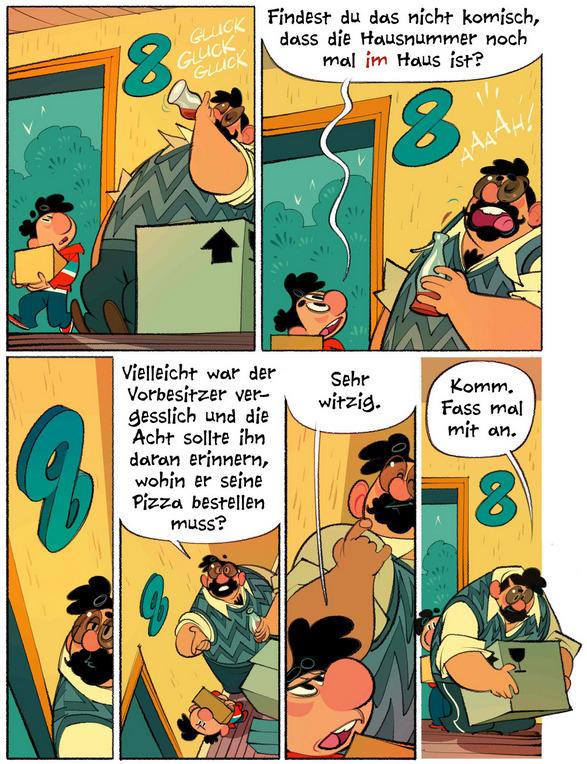 Haus Nr. 8, Kibitz Verlag, Seite 8