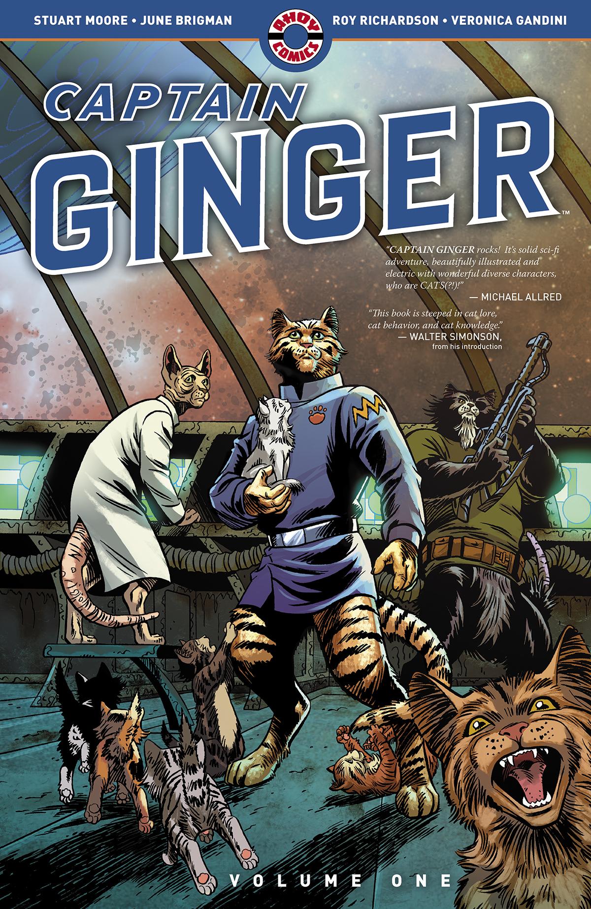 Captain Ginger, Ahoy Comics
