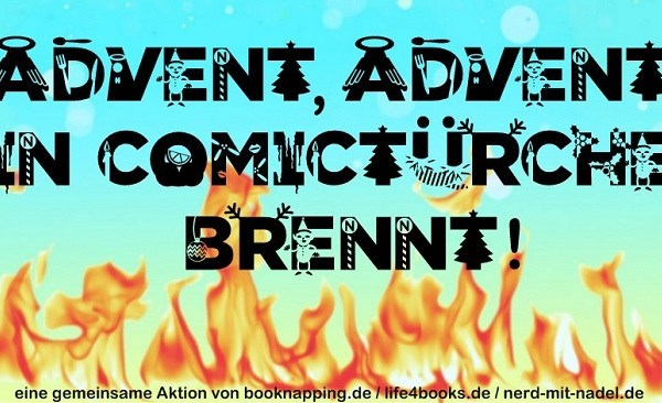 [Beendet] Advent, Advent ein Comictürchen brennt … dann vier