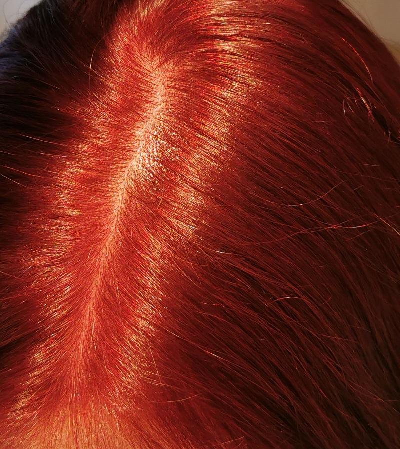 Ruby Metallic Rot - Kunstlicht