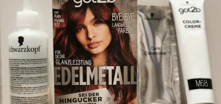 got2b - Edelmetall - Ruby Metallic Rot - M68 - Lieferumfang