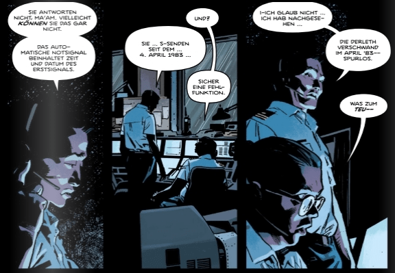 Schiff der lebenden Toten, Panini Comics, Ausschnitt 2