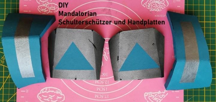 Schulterschützer und Handplatten