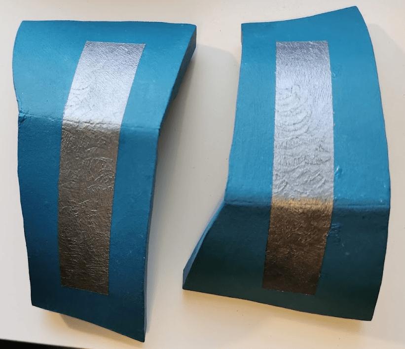 Farbdetails Schulterschützer