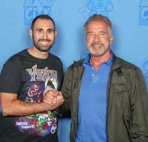 Arnold Schwarzenegger & Sean Tajipour