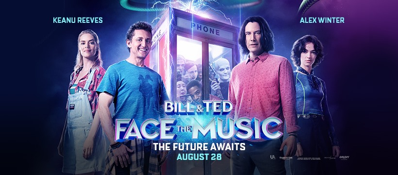 Bill and Ted 3 Banner