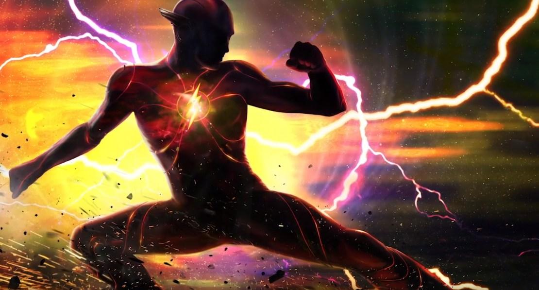 The Flash Concept Art Movie Pane