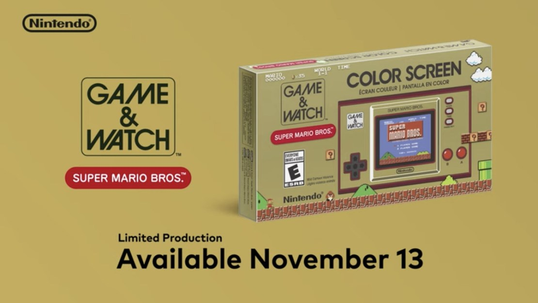 Game and Watch Nintendo