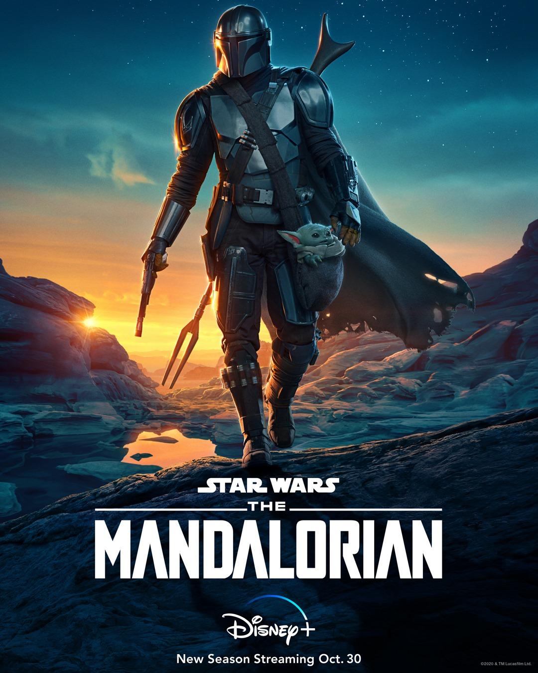 The Mandalorian Disney+ Poster