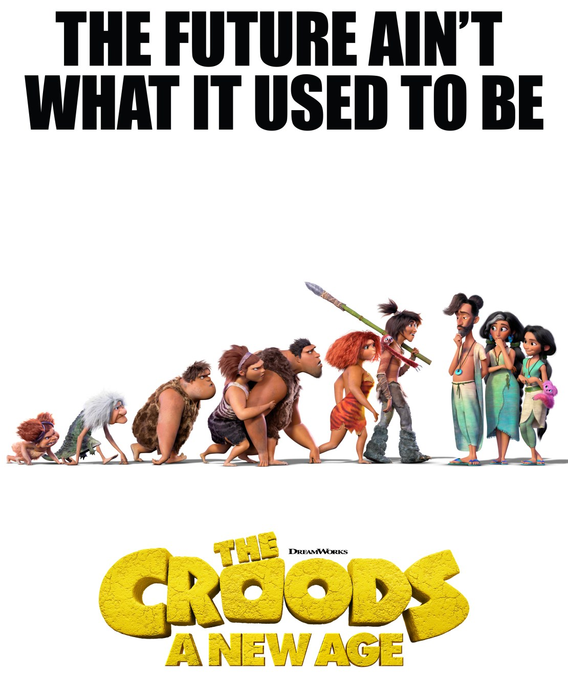 The Croods 2 Movie Poster