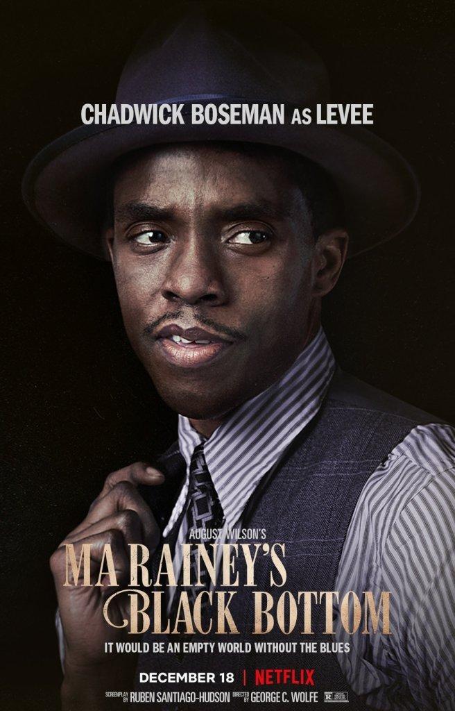 Chadwick Boseman -Ma Rainey's Black Bottom