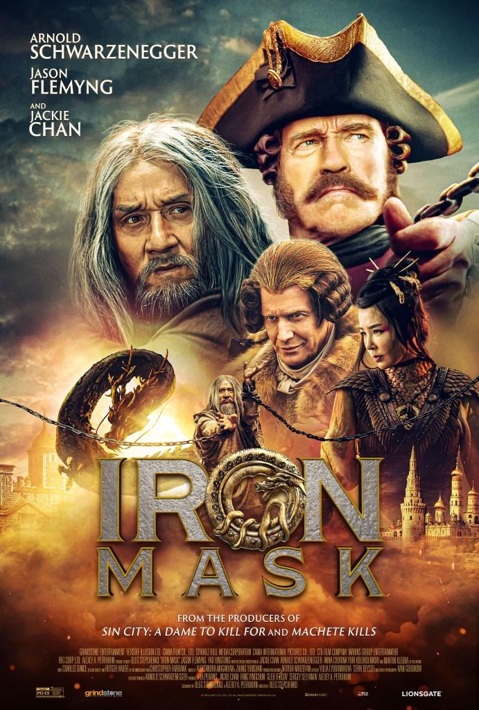 Arnold Schwarzenegger And Jackie Chan S Iron Mask Movie Trailer Nerdtropolis