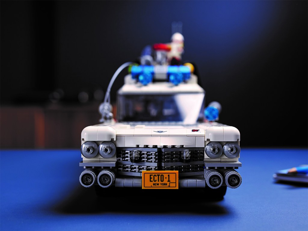 ECTO 1 Ghostbusters LEGO front