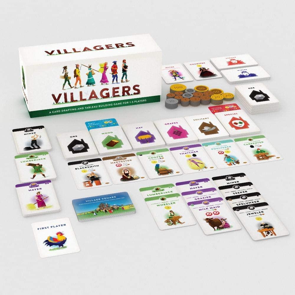 Villagers Board Game Setup