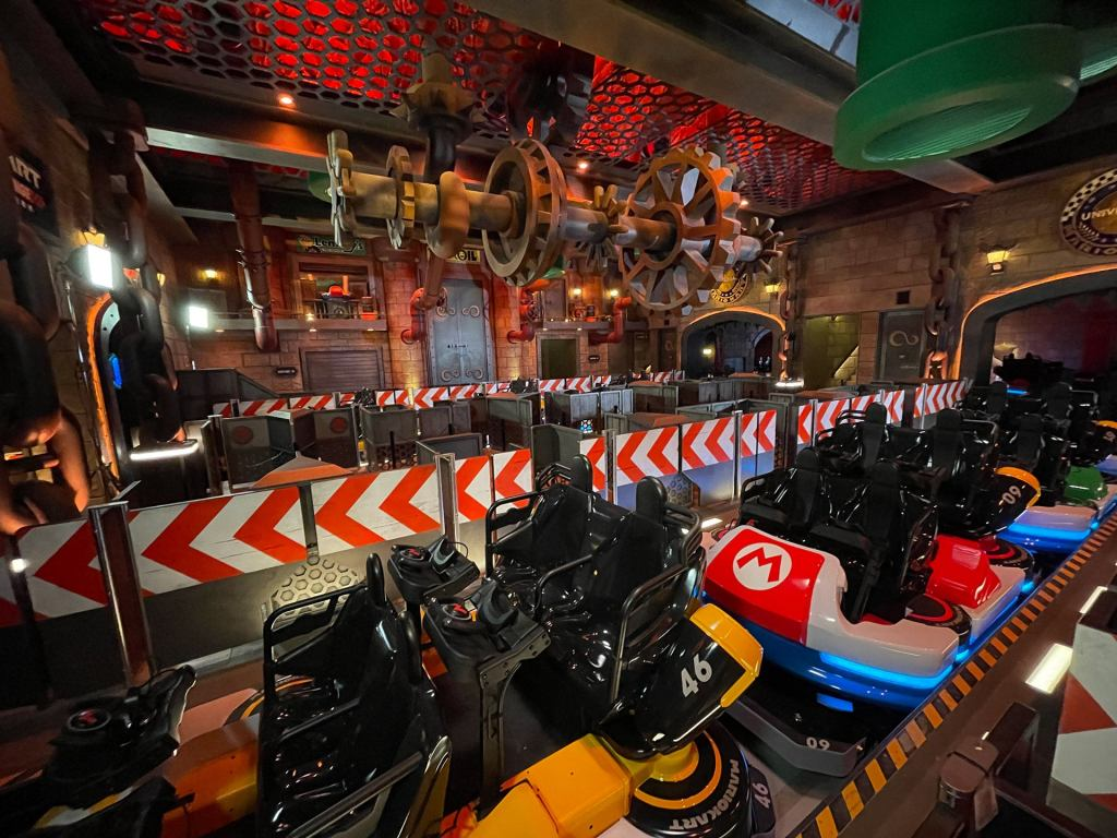 Mario Kart Ride - Super Nintendo World